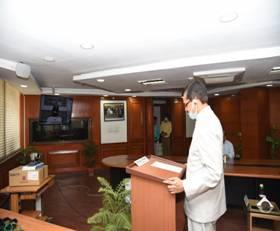 Eminent Banker Suresh N. Patel takes oath as Vigilance Commissioner today