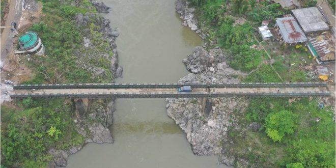 BRO constructs bridge in record time on a key road connecting strategic areas in Arunachal Pradesh