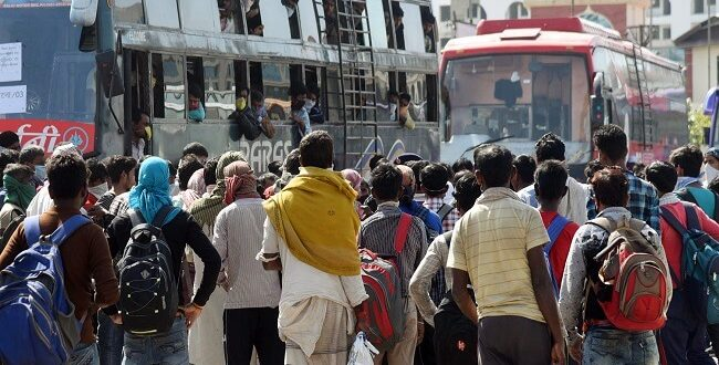 Centre Facilitates the Inter - State Movement of Stranded People including Migrant Labourer in the country, in wake of COVID -19 Pandemic