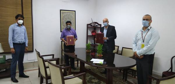 Government of India & AIIB sign agreement for $500 million COVID-19 support for India