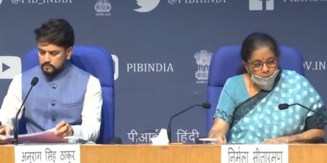 Finance Minister announce measures for relief and credit support related to businesses, especially MSMEs to support Indian Economy's fight against COVID-19