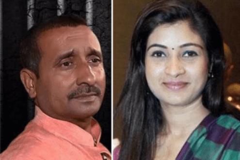 Former MLA Kuldeep Singh Sengar's Daughter lodged FIR against Alka Lamba of Congress over her tweet