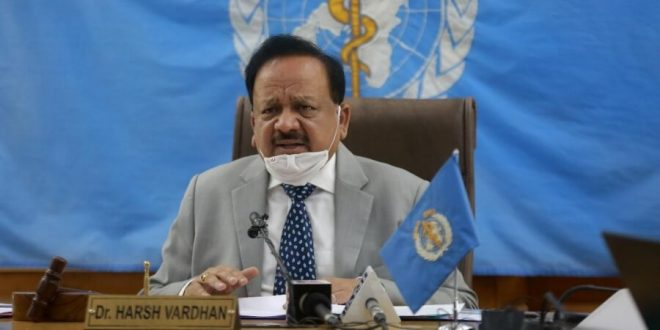 Dr. Harsh Vardhan elected as Chair of Executive Board of WHO