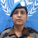 United Nations Award to Indian Army Officer Major Suman Gawani