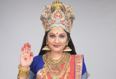 Gracy Singh adds authenticity to her look in &TV's Santoshi Maa Sunaye Vrat Kathayein