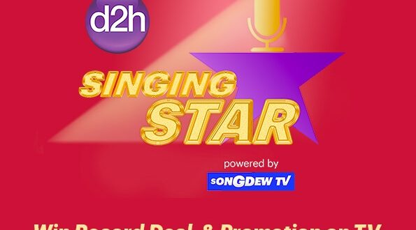 d2h Launches 'Singing Star' in association with SongDew TV