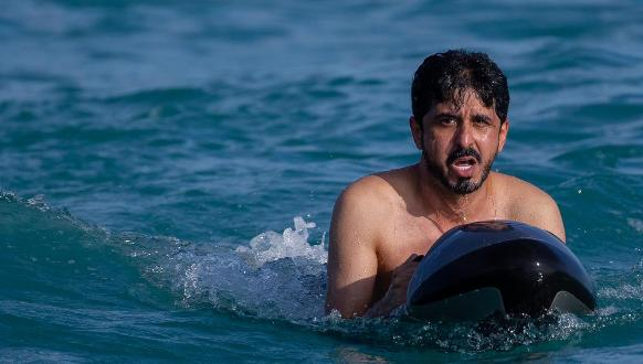 WITH SCENIC VIEWS DECIDED, GHANIM-AL-KHAYARIN'S DEBUT MOVIE IS DEEMED TO BE A HIT.!