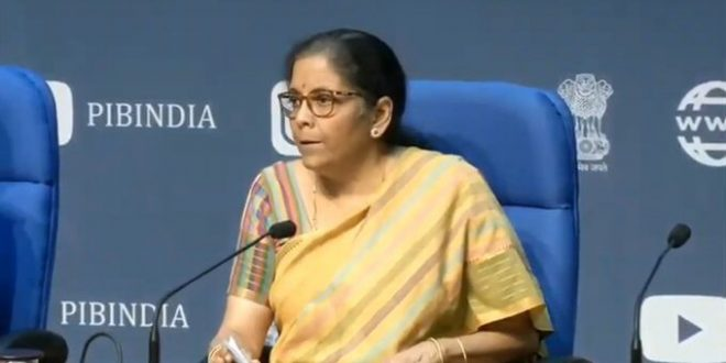Finance Minister announces new horizons of growth; structural reforms across Eight Sectors paving way for Aatma Nirbhar Bharat