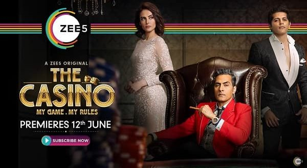 Actors, from television industry and Bollywood are rooting for ZEE5's 'The Casino' as it releases today. A must watch!