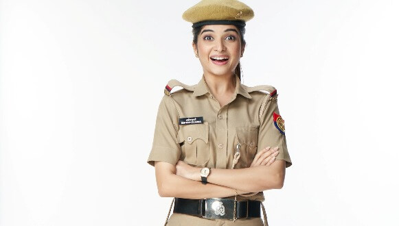 """""""This phase opened my eyes towards the selfless role played by police officers"""", says Bhavika Sharma aka Sassy Santosh from Sony SAB's Maddam Sir"""