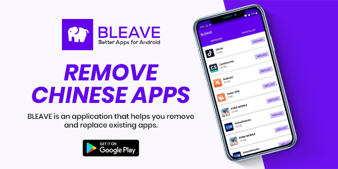 Find substitutes to unsafe apps with Bleave