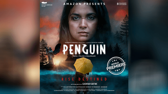 Personalities namely Aishwarya Rajesh, Rathna Kumar, S.R.Prabhu, Vaibhav and S J Suryah are all-praises for Amazon Prime's new release 'Penguin'