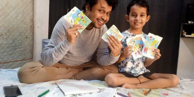 Yogesh Tripathi rekindles his passion for art