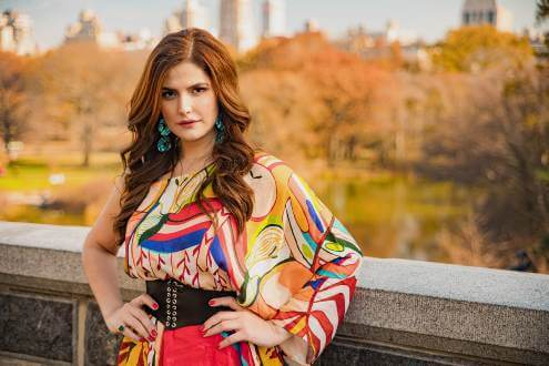 Zareen Khan Muses on the Entertainment Industry