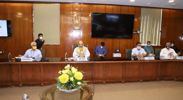 Union Home Minister holds review meeting on COVID-19 preparations with senior officials of NCR