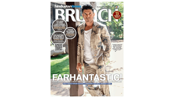 """A vision! Farhan Akhtar looks """"Farhantastic"""" on the latest cover of a leading magazine. Check out!"""