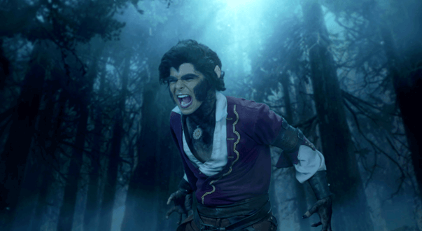 Aladdin turns into a werewolf on Sony SAB's Aladdin: NaamTohSunaHoga