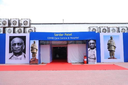 Dr. Harsh Vardhan Visits Sardar Patel COVID Care Centre & Hospital at Chhattarpur