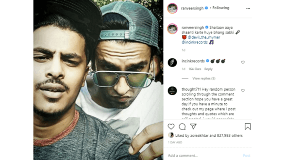 Ranveer expands music label in pandemic, launches a new hip-hop artist Devil The Rhymer!