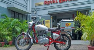 ROYAL ENFIELD LAUNCHES SERVICE ON WHEELS