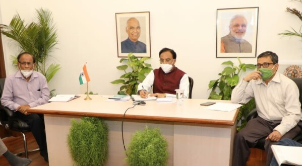 Union HRD Minister Ramesh Pokhriyal 'Nishank' releases UGC Revised Guidelines on Examinations and Academic Calendar for the Universities in view of COVID-19 Pandemic