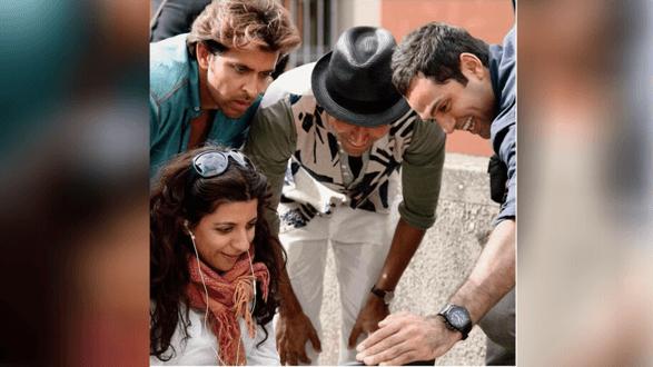 Zoya Akhtar gets nostalgic and shares a BTS from 'Zindagi Na Milegi Dobara' as she celebrates nine years of the film
