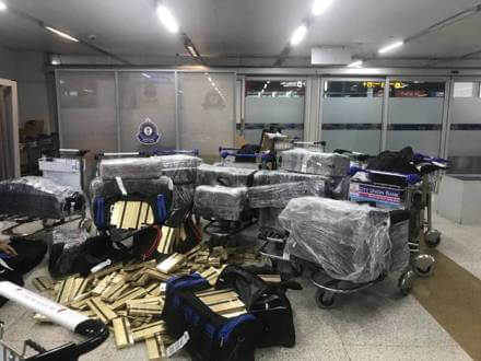 Delhi Customs seizes smuggled cigarettes worth more than Rs 66 Lakhs at IGI Airport