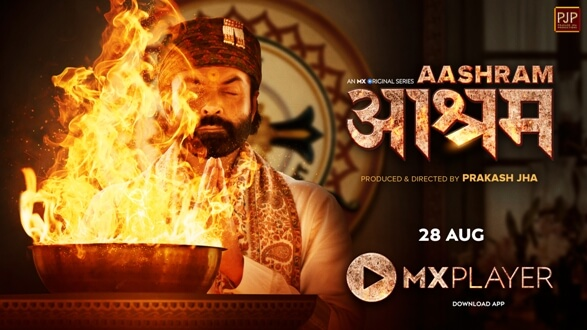 Bobby Deol Unveils His First Look of MX Original Series Aashram