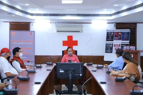 Dr. Harsh Vardhan inaugurates the Thalassemia Screening and Counselling Centre at Indian Red Cross