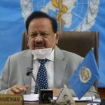 Dr Harsh Vardhan chairs session of The Bureau of The Executive Board of WHO