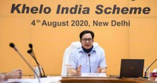 Sports Minister Kiren Rijiju urges states to host annual Khelo India Games to strengthen grassroot-level talent identification