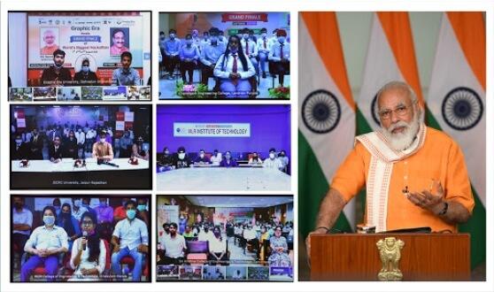PM Narendra Modi addresses Grand Finale of Smart India Hackathon 2020