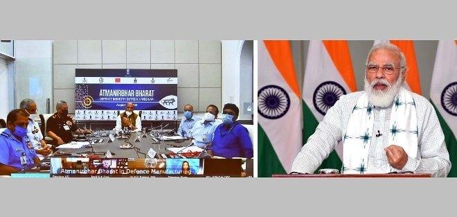 PM Narendra Modi addresses seminar on Atmanirbhar Bharat in Defence manufacturing