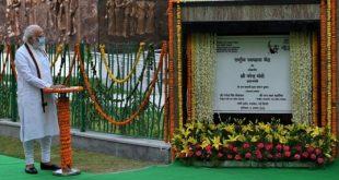 PM Narendra Modi inaugurates Rashtriya Swachhata Kendra – an interactive experience centre on the Swachh Bharat Mission