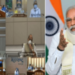 PM holds meeting with CMs of six States to review the flood situation