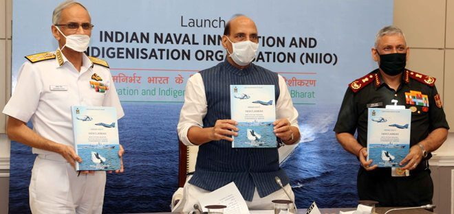 Raksha Mantri Rajnath Singh Launches Naval Innovation and Indigenisation Organisation (NIIO)
