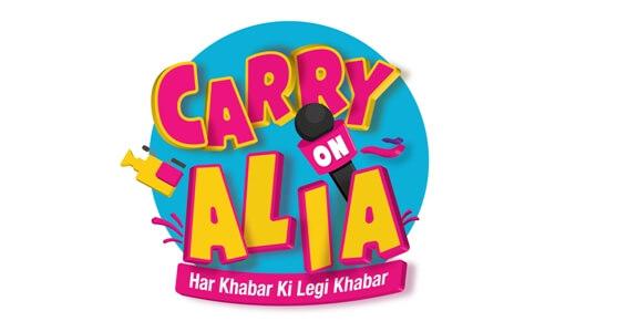 "Now witness Alia's new style in ""Carry On Alia"" on Sony SAB"