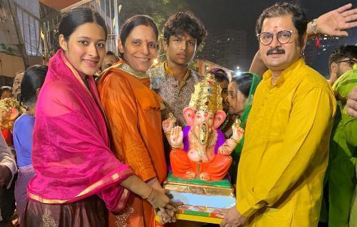 &TV actors say 'Ganpati Bappa Morya' virtually this year!