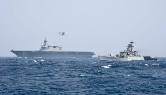Bilateral Maritime Exercise Between Japan and India (JIMEX 20) to Commence off West Coast of India