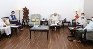 Delegation of Ladakhi veteran leaders met Union Home Minister, Amit Shah