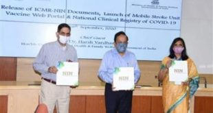 Dr. Harsh Vardhan unveils ICMR's History Timeline