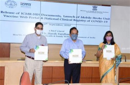 Dr. Harsh Vardhan unveils ICMR's History Timeline