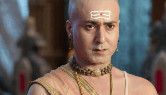 How will Pandit Rama Krishna prove his innocence and save Vijayanagar from being traded?
