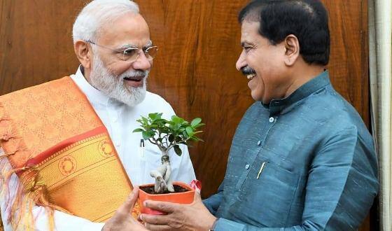 PM Narendra Modi condoles the demise of Suresh Angadi