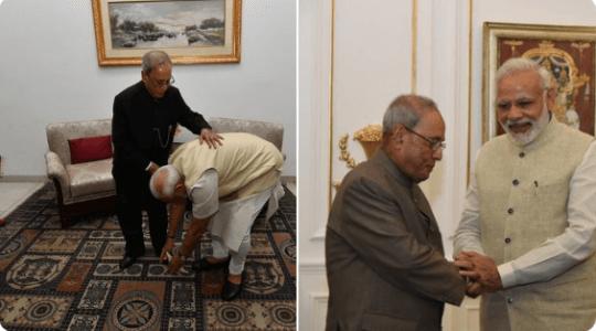 PM Narendra Modi condoles the passing away of former President Bharat Ratna Pranab Mukherjee