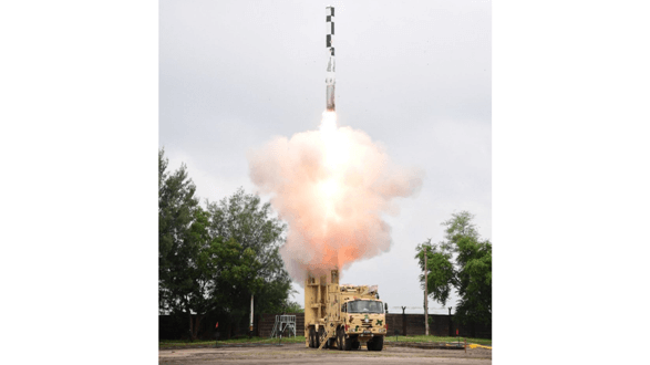 BrahMos Missile Featuring Indigenous Booster Successfully Flight Tested