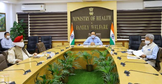 Dr Harsh Vardhan chairs 21st meeting of Group of Ministers (GOM) on COVID-19