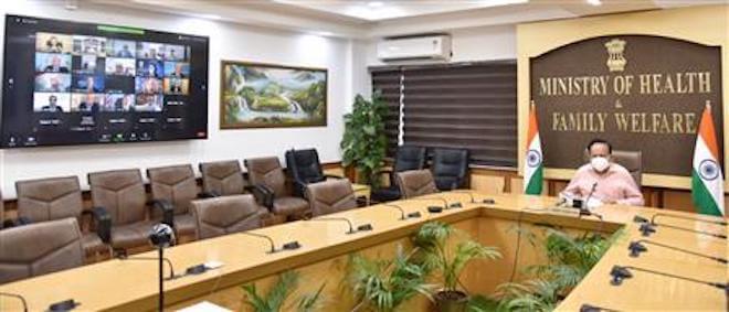 Dr Harsh Vardhan virtually addresses World Bank- IMF annual meeting 2020