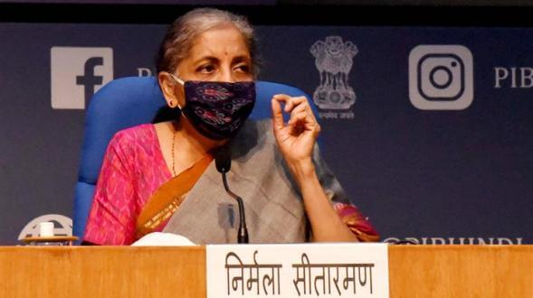 Finance Minister Nirmala Sitharaman announces measures of Rs 73,000 crore to stimulate consumer spending before end of this Financial Year in fight against COVID-19, Cash payment and leave encashment in lieu of one LTC during 2018-21 according to entitlement