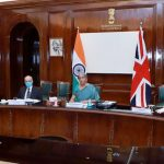 Finance Minister Nirmala Sitharaman leads Indian delegation in 10th Round of Ministerial UK-India Economic and Financial Dialogue